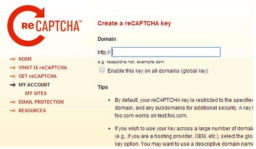 WP-reCaptcha